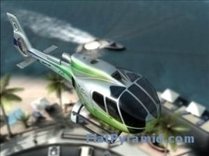 3D Model of an Eurocopter
